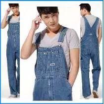 Macacão Jardineira Jeans Masculino Plus Size Prime