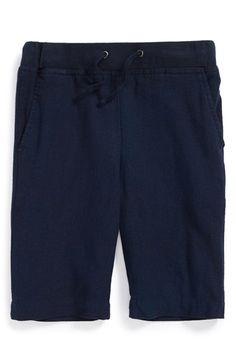 Boy's Vince Linen Blend Shorts
