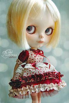 ETERNAL LOVE Romantic Bohemian Colorful Ooak Dress by oddprincess