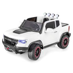 Heavy Duty Edition GM Chevy Style Kids Ride on Truck Car with RC - Step to the newest model of GM Chevy Heavy Duty truck style ride on car for kids and todlers with coolest design that looks remarcably as real car.Heavy Duty Edition GM Chevy S Kids Ride On Toys, Toy Cars For Kids, Kids Toys, Outdoor Toy Storage, Car Storage, Storage Ideas, Skateboard Storage, Dirt Bikes For Kids, Electric Skateboard