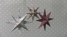 Joulutähti ikkunaan – katso ohje | Meillä kotona Handmade Christmas, Christmas Diy, Merry Christmas, Christmas Ornaments, Seasonal Decor, Fall Decor, Crafts To Do, Paper Crafts, Holiday Crafts
