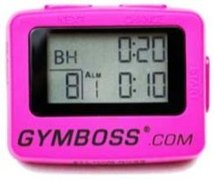 GYMBOSS 7-DAY GIVEAWAY!! That's right. We are giving away one GYMBOSS interval timer every day for an entire week to our loyal supporters. Skinny Ms. Fitness uses the GYMBOSS in many workouts and challenges featured on SkinnyMs.com.