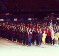 #TeamUSA for #SynchroInPyeongChang2018 #SynchroSkating #Worlds #Haydenettes #Crystallettes #Sweden
