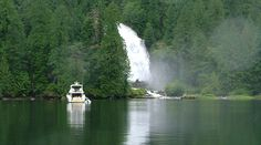 Chatterbox Falls, Princess Louisa Inlet, with Sunshine Coast Tours http://www.sunshinecoasttours.ca
