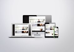 webdesign ontwerp van een  responsive website voor Tom Naegels