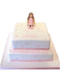 Angel on a Christening Cake