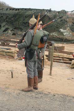 German soldiers, WWI.