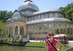 Madrid, Spain  El Palacio Cristal en el parque Retiro