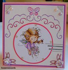 Suzannes cards: 1 patroon, 2 kaarten