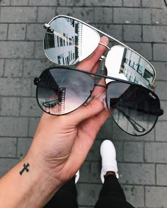"29.2k Likes, 750 Comments - QUAY AUSTRALIA (@quayaustralia) on Instagram: ""#QUAYXDESI HIGH KEY Black Fade & Silver are still in stock, but disappearing quickly! Get yours at…"""