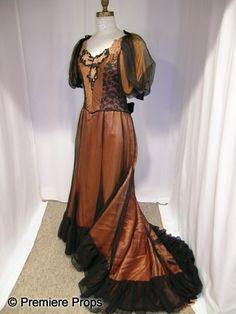 1912 Dress...but in hunter green