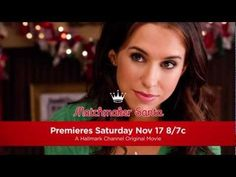 """Romance is in the (holiday) air when Lacey Chabert (""""Mean Girls,"""" """"Party of Five"""") stars in the Hallmark Channel Original Movie World Premiere """"Matchmaker Sa. Christmas Movie Night, Hallmark Christmas Movies, Hallmark Movies, Pixl Movies, Movie Tv, Abc Family, Family Movies, Lifetime Movies, Hallmark Channel"""