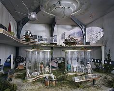 """""""After the Apocalypse"""" Photography Series by Lori Nix. Photographer Lori Nix hand-crafted dioramas are fictional scenes of a post-apocalyptic world in Photography Series, Photography Projects, Apocalypse Photography, Film Inspiration, Post Apocalypse, Small World, Innovation Design, Business Innovation, Abandoned Places"""
