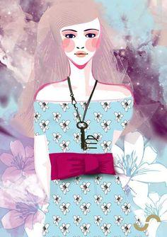 horoscope ☆ virgo ☆ by ja #illustration #fashion #donnevincenti