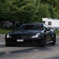 "3,145 Likes, 16 Comments - SwissRichStreets (@srs_swissrichstreets) on Instagram: ""SL65 AMG Black Series. @elitegaragezuzwil"""