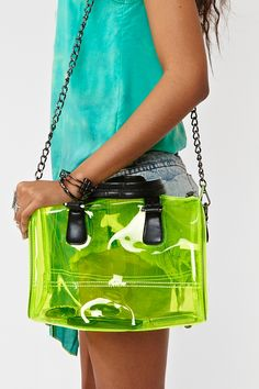 This is the huge fashion trend for the upcoming Spring 2013 season! Plastic!!!