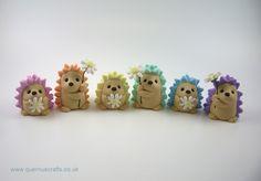 Pastel Daisy Hedgehogs