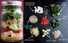 Salada no pote: 4 receitinhas deliciosas para você fazer e levar pra firma