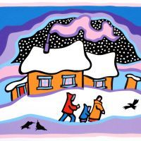 66 best art by ted harrison images on pinterest ted art ideas and