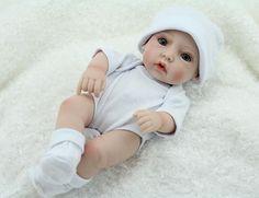 Silicone Baby Dolls Lifelike Baby Dolls 11 inch Vinyl