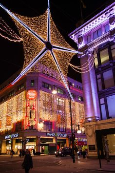 Christmas in London, by Adam Pender