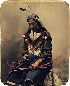 Oglala Sioux council chief / by Herman Heyn, 1899.