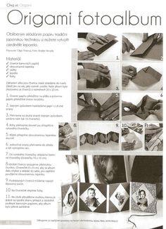origami fotoalbum