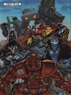 ABC Warriors - The Mek-nificient Seven Greg Staples