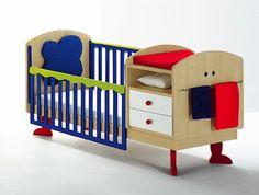 Colorful Furniture, Kids Furniture, Nursery Room, Boy Room, Baby Changer, Small Cupboard, Kids Wardrobe, European Furniture, Built In Storage