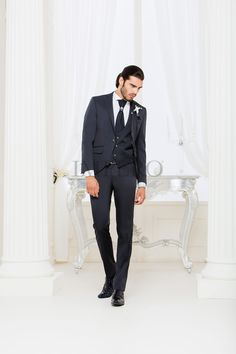 EG 28-16  #sposo #groom #suit #abito #wedding #matrimonio #nozze #nero #black