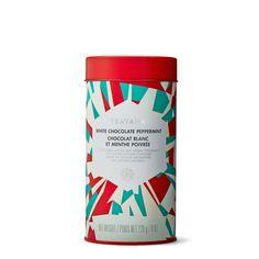 White Chocolate Peppermint Rooibis Tea-Filled Tin $45.00 (Mom)