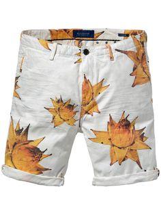 Short chino Theon - Garment Dye | Shorts Denim | Habillement Homme Scotch & Soda