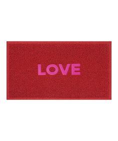 'Love' Doormat