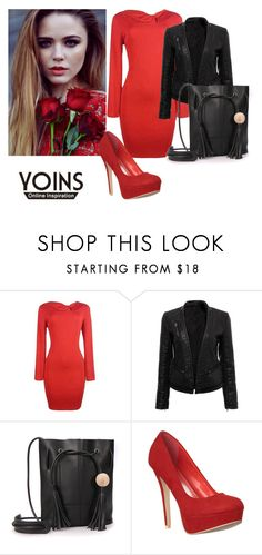 """YOINS II-11"" by hanifasemic ❤ liked on Polyvore featuring yoins"