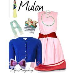 Mulan disney outfit