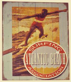 Vintage Beach Signs