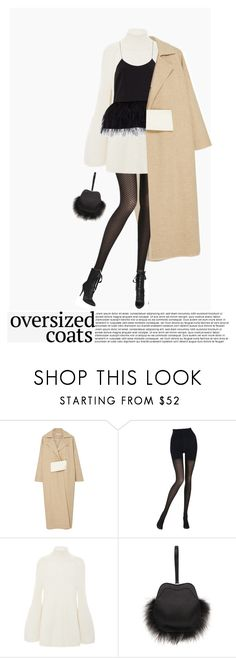 """Oversized Coats"" by poison-iivy ❤ liked on Polyvore featuring Rejina Pyo, Wolford, Rosetta Getty, Simone Rocha, TIBI, Giuseppe Zanotti and oversizedcoats"