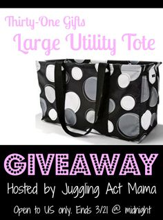 Juggling Act: Thirty One Giveaway