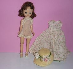 1950's AC Betsy McCall Doll  Brunette by DolllightedToMeetYou