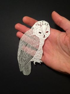 handcut paper by Maude White