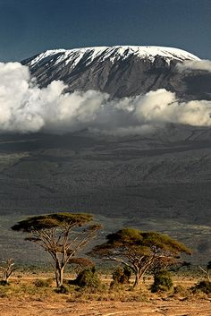 Kilimanjaro, Tanzania 101 Places to see before you due III Monte Kilimanjaro, Kilimanjaro Climb, Places To Travel, Places To See, Places Around The World, Around The Worlds, Magic Places, Arusha, Photos Voyages
