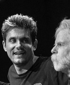 Look at his face! Bob Weir, Dead And Company, Strong Love, John Mayer, Grateful Dead, Love Affair, Singers, All About Time, Ears