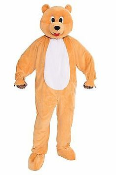 Halloween Costumes: Honey Teddy Bear Plush Mascot Halloween Costume Adult Std Size Forest Animal BUY IT NOW ONLY: $54.99