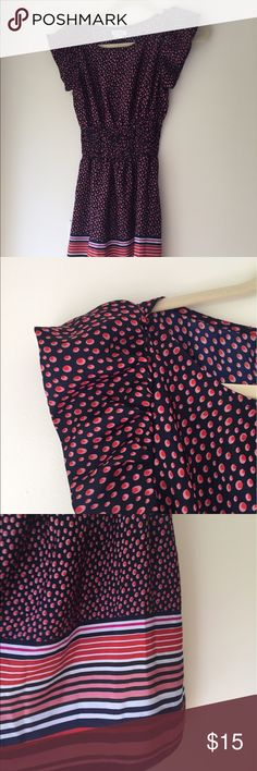 Pinky Polka Dot Patterned Dress EUC. No visible wear. Size small. Would fit an xs as well Pinky Dresses