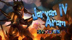 Jarvan IV ARAM - Ultimate Bravery League Of Legends, Videos, League Legends