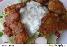 Kapří hranolky zase jinak recept - TopRecepty.cz Sushi, Meat, Chicken, Food, Koken, Meals, Cubs