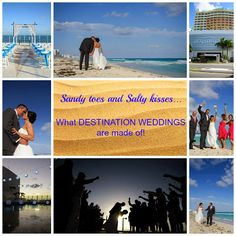 We love planning destination weddings! WWW.Playyourwaytravel.com Sandy Toes, Destination Weddings, Far Away, Movie Posters, Movies, Films, Destination Wedding, Film, Movie