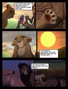 Kiara's Reign Page 44 by on DeviantArt Kiara Lion King, Lion King 4, Kiara And Kovu, Lion King Story, Lion King Fan Art, Lion King Movie, Disney Lion King, King Art, Hakuna Matata
