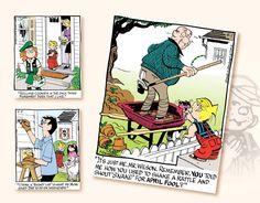 2017 Promotional Calendars - Dennis The Menace Comic Art Calendar - April Promotional Calendars, Dennis The Menace Comic, Art Calendar, Comic Art, Comics, Comic Book, Comic Books, Comic, Comic Strips
