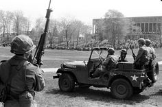 On May four Kent State University students were killed and nine injured when members of the Ohio National Guard opened fire during a. Us History, American History, Jackson State University, Student Protest, Freedom Of Information Act, National Guard, Vietnam War, Historical Society, Woodstock